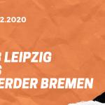 RB Leipzig – SV Werder Bremen Tipp 12.12.2020