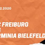 SC Freiburg – Arminia Bielefeld Tipp 12.12.2020