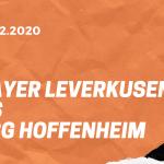 Bayer 04 Leverkusen – TSG 1899 Hoffenheim Tipp 13.12.2020