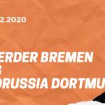 SV Werder Bremen – Borussia Dortmund Tipp 15.12.2020