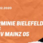 Arminia Bielefeld – 1. FSV Mainz 05 Tipp 05.12.2020