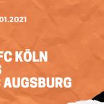 1.FC Köln – FC Augsburg Tipp 02.01.2020