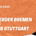 SV Werder Bremen – VfB Stuttgart Tipp 06.12.2020