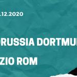 Borussia Dortmund - Lazio Rom Tipp 02.12.2020