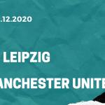 RB Leipzig - Manchester United Tipp 08.12.2020