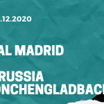 Real Madrid - Borussia Mönchengladbach Tipp 09.12.2020