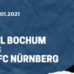 VfL Bochum - 1. FC Nürnberg Tipp 16.01.2021