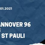 Hannover 96 - FC St. Pauli Tipp 16.01.2021