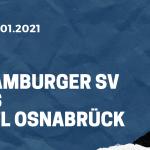 Hamburger SV - VfL Osnabrück Tipp 18.01.2021
