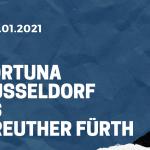 Fortuna Düsseldorf - SpVgg Greuther Fürth Tipp 22.01.2021
