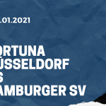 Fortuna Düsseldorf - Hamburger SV Tipp 26.01.2021