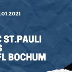 FC St. Pauli - VfL Bochum Tipp 28.01.2021