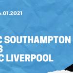 FC Southampton - FC Liverpool Tipp 04.01.2021