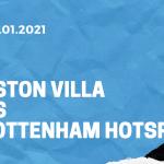 Aston Villa - Tottenham Hotspur Tipp 13.01.2021