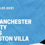 Manchester City - Aston Villa Tipp 20.01.2021