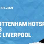 Tottenham Hotspur - FC Liverpool Tipp 28.01.2021