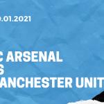 FC Arsenal - Manchester United Tipp 30.01.2021