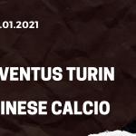 Juventus Turin - Udinese Calcio Tipp 03.01.2021