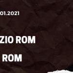 Lazio Rom - AS Rom Tipp 15.01.2021