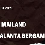 AC Mailand - Atalanta Bergamo Tipp 23.01.2021