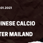 Udinese Calcio - Inter Mailand Tipp 23.01.2021