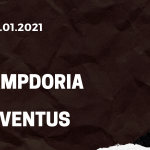 Sampdoria Genua - Juventus Turin Serie A 30.01.2021