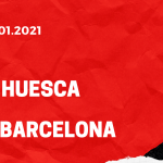 SD Huesca - FC Barcelona Tipp 03.01.2021