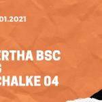 Hertha BSC – FC Schalke 04 Tipp 02.01.2020