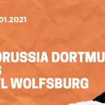 Borussia Dortmund – VfL Wolfsburg Tipp 03.01.2020