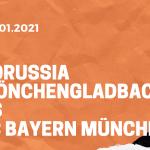 Borussia Mönchengladbach – FC Bayern München Tipp 08.01.2020