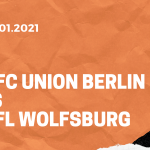 1.FC Union Berlin – VfL Wolfsburg Tipp 09.01.2020
