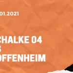 FC Schalke 04 – TSG 1899 Hoffenheim Tipp 09.01.2020