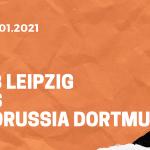 RB Leipzig – Borussia Dortmund Tipp 09.01.2020