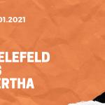 Arminia Bielefeld – Hertha BSC Tipp 09.01.2020