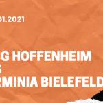 TSG 1899 Hoffenheim – Arminia Bielefeld Tipp 16.01.2020