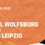 VfL Wolfsburg – RB Leipzig Tipp 16.01.2020 Bundesliga