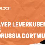 Bayer 04 Leverkusen – Borussia Dortmund Tipp 19.01.2020