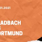 Borussia Mönchengladbach – Borussia Dortmund Tipp 22.01.2021
