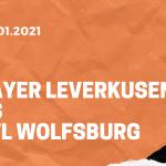 Bayer 04 Leverkusen – VfL Wolfsburg Tipp 23.01.2021