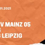 1.FSV Mainz 05 – RB Leipzig Wetten Tipp 23.01.2021