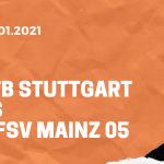 VfB Stuttgart – 1. FSV Mainz 05 Tipp 29.01.2021