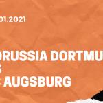 Borussia Dortmund – FC Augsburg Tipp 30.01.2021