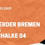 SV Werder Bremen – FC Schalke 04 Tipp 30.01.2021