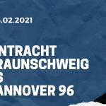 Eintracht Braunschweig – Hannover 96 Tipp 06.02.2021