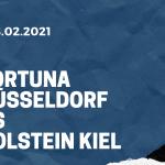 Fortuna Düsseldorf - Holstein Kiel Tipp 08.02.2021