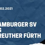 Hamburger SV - SpVgg Greuther Fürth Tipp 13.02.2021