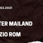 Inter Mailand - Lazio Rom Tipp 14.02.2021