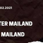 AC Mailand - Inter Mailand Tipp 21.02.2021