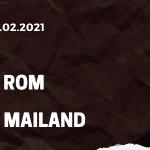 AS Rom - AC Mailand Tipp 28.02.2021