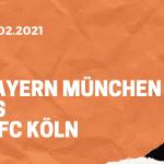 FC Bayern München – 1. FC Köln Tipp 27.012.2021